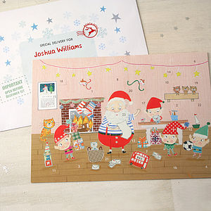 Grotto Advent Calendar And Envelope - advent calendars