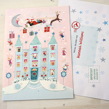 Fairy House Advent Calendar And Envelope