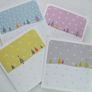 Snowfall Christmas Cards - cards