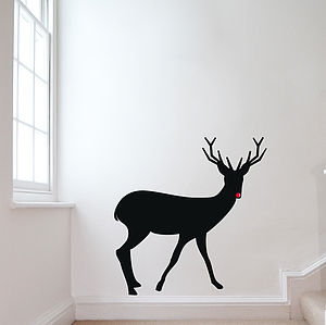 Reindeer Wall Sticker - christmas home accessories