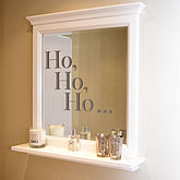 'Ho, Ho, Ho' Christmas Wall Stickers - christmas decorations
