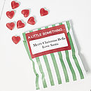 Personalised Heart Throb Christmas Sweets