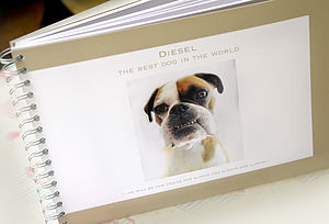 Dog Memory Book - home accessories