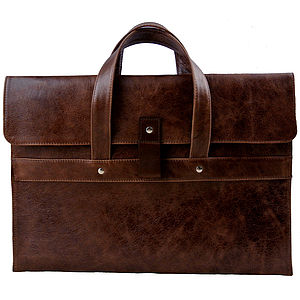 Leather Macbook Pro 15 Inch Carry Case - laptop bags & cases