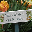 Bespoke Wooden Garden Signs