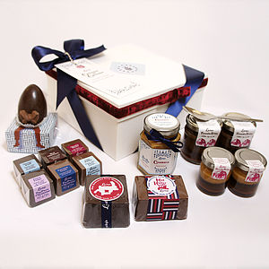 Chocolate And Cake Curiouser Hamper - cakes & treats