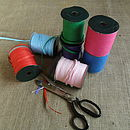 Brightly Coloured Raffia Ribbon Five Metre