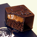 Gift Box Of Chocolates Filled With Honey Cake