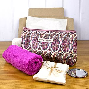 Gift Set With Liberty Cosmetic Bag - under £25