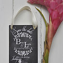 Vintage Chalkboard Wedding Save The Date