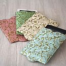Recycled Floral Kindle Or Kobo Sleeve