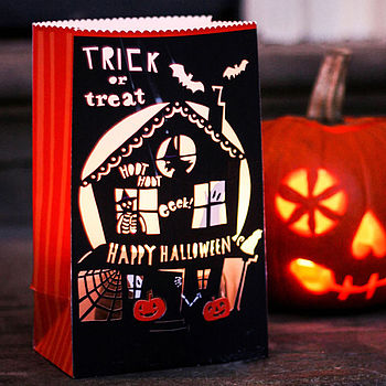 Halloween Luminary Set Of Four