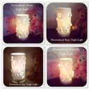 All available personalised night light designs