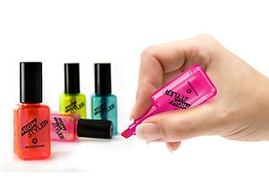 'Nail Varnish' Highlighters - office & study