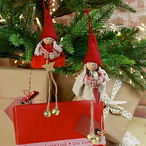 Hanging Doll Decoration - tree decorations