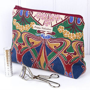 Make Up Bag Liberty Ianthe Print - make-up & wash bags