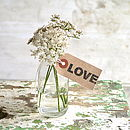 'Love' Rubber Stamp