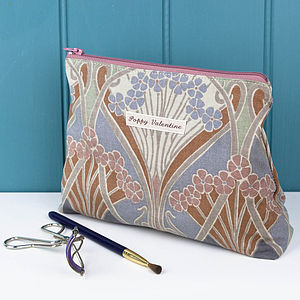 Make Up Bag Ianthe Mink Liberty Print - bags & purses