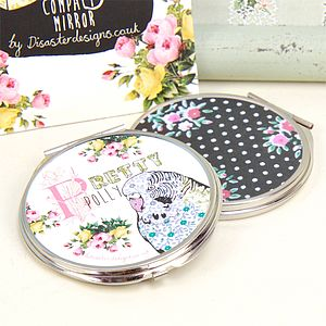 Ditsy Compact Mirror - beauty accessories