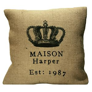 'Maison' Personalised Home Cushion - gifts under £50