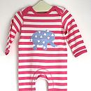 Baby Elephant Playsuit