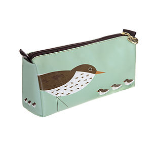 Three Birdy Make Up Loaf Bag - make-up & wash bags