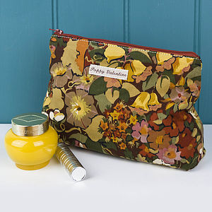 Make Up Bag Liberty Cottage Garden - make-up & wash bags