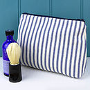 Men's Wash And Shave Bag