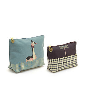 Wash And Make Up Bag Pond Living Set