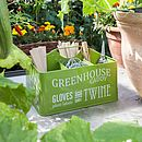 Gardeners Greenhouse Caddy