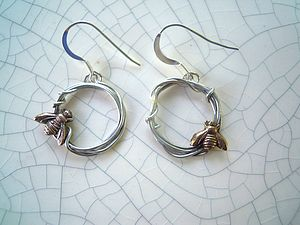 Woodland Bee Earrings
