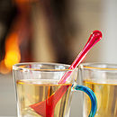 Tea Infuser With Holder Green
