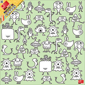 Junior Colour In Canvas - canvas prints & art