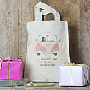 Personalised Bridesmaids' Tote Bags