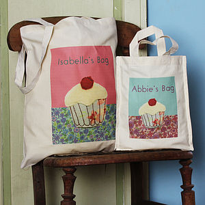 Personalised Cupcake Bag - shopper bags