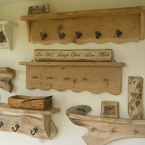 Bespoke Handmade Shelving For Faye