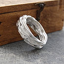 Sterling Silver Eternity Wrap Ring