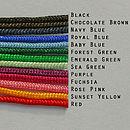 Thread Colours Available