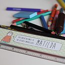 Personalised Children's Ruler