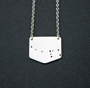 Ursa Minor Little Bear Constellation Necklace - women's jewellery