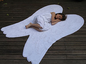 Angel Wings Washable Rug