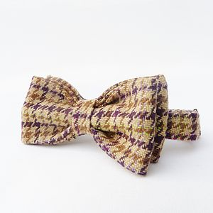 Boys Tweed Bow Tie