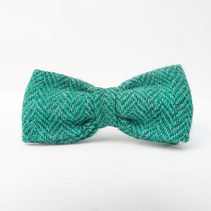 Boys Harris Tweed Bow Tie