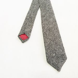 Tweed Skinny Tie - men's accessories