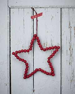 Red Hanging Star