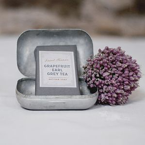 Grapefruit And Earl Grey Tea Artisan Soap - bathroom
