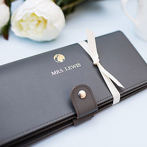 Personalised Travel Wallet - bags & purses