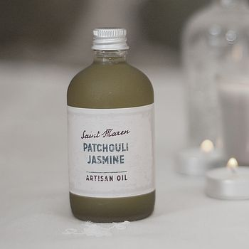 Patchouli And Jasmine Artisan Oil