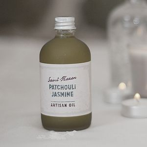 Patchouli And Jasmine Artisan Oil - bathroom