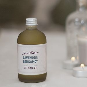 Lavender And Bergamot Artisan Oil - massage & aromatherapy